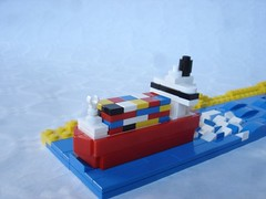 Freighter (fdsm0376) Tags: moc brickpirate bpchallenge microscale lego boat