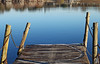 Pier on the lake (photoschete.blogspot.com) Tags: canon 70d eos 50mm parque lago embarcadero azul reflejos park lake pier jetty blue reflections