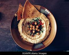 Photo accepted by Stockimo (vanya.bovajo) Tags: stockimo iphonegraphy iphone houmous vegetarian vegan food mo meat plate ready eat