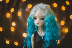 Sierra and orange lights (Ilweranta) Tags: bjd bjddoll doll msd dim laia