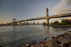 NYC (Juan Ortiz Fotografia) Tags: nyc travel newyork nuevayork viaje puente bridge manhattan rio river sunset paisaje landscape sky citie