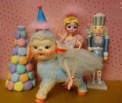 Journey to... (Primrose Princess) Tags: retro kawaii cute pink mypinkheaven thenutcracker macaron ballet ballerina kingdomofsweets primroseprincess dollydreamland vintagetoys posedoll kitch