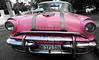 Pretty Pink Pontiac (Poocher7) Tags: car automobile classiccars 1950s beautifuloldcars americancars pink prettypink pinkcars taxi cab pontiac pinkpontiac convertible pinkconvertible havana cuba carribean sundaylights selectivecolour isolatedcolour monochrome blackandwhite