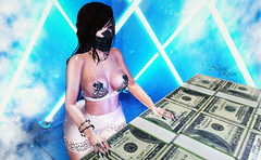 ~Money Moves~ (нчρпσκυн aka Nessie Ryan) Tags: tala truth buzz lana frou event events thisiswrong suicidedollz blaxium thedarknessmontlyevent formanails westside pose posing foxcity backdrop secondlife second life secondlifeblogger secondlifeblog nessie nessieryan ryan wordpress blog blogger fashion fashionoutfit bento mesh meshhead meshhair meshbody slblogger slblog sl virtuallife virtual fashionblog fashionblogging catwa
