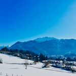 Winter view of Kufstein and The Alps in Tyrol, Austria thumbnail