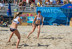 Match 53: Round of 24: USA vs. Russia (cmfgu) Tags: craigfildesfineartamericacom fédérationinternationaledevolleyball internationalfederationofvolleyball fivb swatchfivbbeachvolleyballmajorseries worldtour fortlauderdale ftlauderdale browardcounty florida fl usa unitedstatesofamerica beach volleyball tournament professional sun sand tan athlete athletics ball net court set match game sports outdoors ocean palmtrees women woman bikini rus russia россия kellyclaes kellyreeves