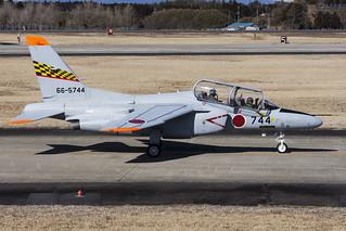 Japan Air Self Defence Force, Kawasaki T-4, 66-5744.