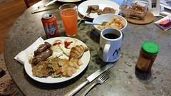 Serious Breakfast (donXfive) Tags: year comfortfood places january pennsylvania 2015 month food bethlehem home