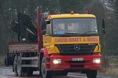 Mercedes Axor David Bratt & Sons DK06 EUY (SR Photos Torksey) Tags: transport truck haulage hgv lorry lgv logistics road commercial vehicle freight traffic mercedes axor david bratt