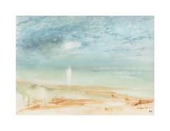 Rivage (Yvan LEMEUR) Tags: aquarelle watercolour acuarela peinture rivage plage mer ciel landscape paysage
