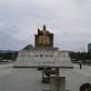 King Sejong (alisaschen) Tags: king sejong korea seoul street statue 광화문광장 gwanghwamun plaza 세종대왕 동상 세종 bronze joseon dynasty inventor hangul 서울 한국 hangeul korean alphabet
