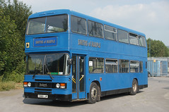 Smiths of Marple, New Mills C666LJR 9/7/13 (Lincolnshire Bus Stop) Tags: leyland olympian ecw 3666 c666ljr northern general go ahead wear travel smiths marple