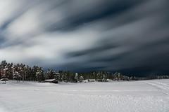 Lake 3 (B.B.f.H.) Tags: sweden longexposure nikon d7100 winter nature night sky