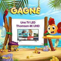 Une TV Led Thomson 4K UHD (Prizee_Officiel) Tags: césars film télévision tv thomson prizee cadeau movie