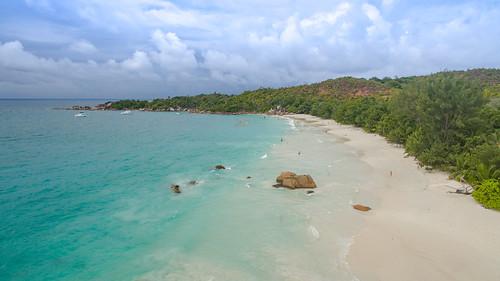 Traumstrand Anse Lazio Praslin Seychellen