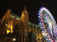 Metz - Cathédrale (Cherryl.B) Tags: metz lorraine grandest bâtiment réligieux gothique roue lumière cathédrale église