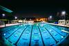 A Beautiful Night for a Swim (Thomas Hawk) Tags: america california college photowalk sjphoto2011 sjsu sanjose sanjosestateuniversity southbay usa unitedstates unitedstatesofamerica university pool swimmingpool fav10 fav25