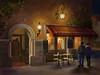 Venice Street Scene (Deborah.Lee) Tags: digital painting pastels venice nightscene