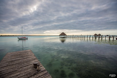 Bacalar, early morning. (mzagerp) Tags: mexico mexique yucatan playa del carm tulum beach plage cancun jungle valladolid wildlife merida chichen itxa ek balam uxmal labna edzna campeche calakmul bacalar colors couleurs ruines ruins maya