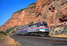 The Pioneer in Echo Canyon (jamesbelmont) Tags: amtrak echocanyon utah emd f40ph pioneer passenger scenic railway