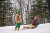 Once the giggles start... (Elizabeth Sallee Bauer) Tags: nature active bonding boy brother child childhood cold colorful friends fun happiness kid kids outdoors outside playing qualitytime seasonal siblings sledding snow together togetherness twoboys white winter wintersports youth
