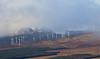 Braes of Doune windfarm (themadbirdlady) Tags: windfarm braesofdoune stirling landscape clouds snow