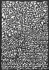 Doodles (Abstrakt 777) Tags: art doodles doodlersanonymous abstract abstractart penandink ink drawing sketchbook psychedelic trippy shapes blackandwhite blackandwhiteart
