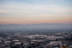 A Southern California Sunset (andrewwebbcurtis) Tags: losangeles los angeles lax city angels socal california cali la travel wanderlust southerncalifornia baldwin hills scenic overlook night sunset skyline hiking mountain culver culvercity