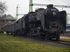 P1218732 (Dreamaxjoe) Tags: gozmozdony 424steamlocomotive steam locomotive 424 bivaly celldömölk