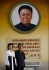 North Korean people posing in front of a Kim Jong il giant picture, Kangwon Province, Chonsam Cooperative Farm, North Korea (Eric Lafforgue) Tags: adults adultsonly art artisticproduct asia asian communism creativity cultofpersonality dictator dictatorship dprk dprk2918 humanrepresentation ideology kimjongil koreanculture koreanscript museum nonwesternscript northkorea northkorean paintings patriotism people politician politicsandgovernment propaganda traveldestinations twopeople vertical chonsamcooperativefarm kangwonprovince 北朝鮮 북한 朝鮮民主主義人民共和国 조선 coreadelnorte coréedunord coréiadonorte coreiadonorte 조선민주주의인민공화국 เกาหลีเหนือ קוריאההצפונית koreapółnocna koreautara kuzeykore nordkorea північнакорея севернакореја севернакорея severníkorea βόρειακορέα