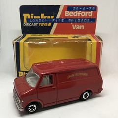 Dinky Toys England - Number 410 - Bedford CF Van - London Fire Brigade - Miniature Die Cast Metal Scale Model Emergency Services Vehicle (firehouse.ie) Tags: hasici straz fuoco vigili apparatus appliance vans fourgons johngay pompieri pompiers 1976 dinky410 feuerwehr feuerwehrauto diecast miniatures miniature models model metal toys toy fourgon van cf bombeiros bomberos brandweer bedfordcf bedford meccano england dinkytoys dinky