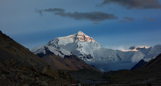 Twilight on Everest, Tibet 2017