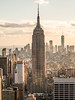 EmpireStateBuilding (sulo~) Tags: skyscraper 2017 newyork usa winter empire state building manhattan golden hour one world trade center freedom tower nyc rockefeller topoftherock