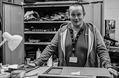 Derek (evans.photo) Tags: people portraits library conservator nationallibraryofwales llyfrgellgenedlaethol wales ceredigion work occupation proffessional