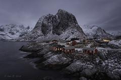 Lofoten (Luis R.C.) Tags: lofoten noruega paisajes viajes nikon d610 nieve pueblos