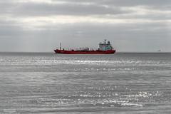 Christina (Malte Kopfer Photography) Tags: christina cuxhaven alteliebe morning tanker oiltanker öltanker chemikalienölproduktetanker chemicaloiltanker norwegian red elbe