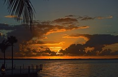 Sunset At Sundowners (ACEZandEIGHTZ) Tags: colors orange sundowners restaurant nikon d3200 dockside view key largo floridakeys monroecounty post1
