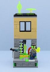 Adam Acid😨 (Alex THELEGOFAN) Tags: lego legography minifigures minifigure minifig minifigurine minifigs minifigurines agents ultra adam acid vignette factory twoface venom bad guys poison chemicals