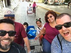 01-14-18 Biciruta Morning 01 (Gil, Jose Antonio, Leo, Luna, Carmen, & Derek) (derek.kolb) Tags: mexico yucatan merida family