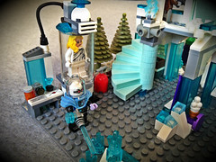 Justice League - The Ice Crib Break In (bricksfreaks) Tags: batman cyborg joker lego bricks moc bricksfreaks dccomics justiceleague redarrow theriddler mrfreeze thepenguin breaksfreaks