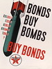 BONDS BUY BOMBS - BUY BONDS (OldAdMan) Tags: bonds buy bombs texaco propaganda advertisement