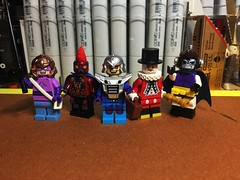 Spot the Good Guy (Lord Allo) Tags: lego dc justice league villains fisherman despero mongul beefeater doctor polaris