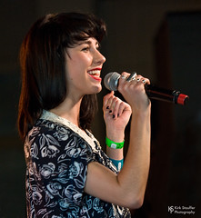 Kimbra @ SXSW 2012 (Kirk Stauffer) Tags: kirk stauffer photographer nikon adorable amazing attractive awesome beautiful beauty charming cute darling fabulous feminine glamour glamorous goddess gorgeous lovable lovely perfect petite precious pretty siren stunning sweet wonderful young female girl lady woman women live music tour concert show gig lights lighting song singer singing songwriter vocals performer musician band indie pop rb long black hair bangs blue eyes red lips white teeth model tall portrait fashion style smile smiling new zealand johnson gotye