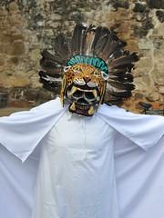 CARNAVAL Oaxaca Mexico (Ilhuicamina) Tags: tilcajete carnavql sanmartintilcajete festivals mascaras masks oaxaca mexico jaguar tigre