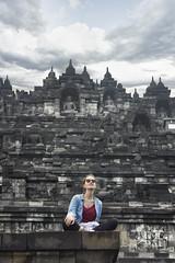 Borobudur Temple, Java, Indonesia-2.jpg by EmiLaguna -