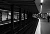 wait with me / converging lines (Özgür Gürgey) Tags: 2018 50mm bw d750 hamburg nikon rathaus architecture geometry grainy indoor leading lights lines people rails station street subway