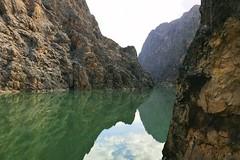 A view from the train (yonca60) Tags: ilic erzincan turkey kanyon river nehir manzara easternexpress doguekspresi train tren doguanadolu easternanatolia reflection yansima