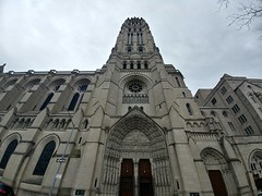 Riverside Church (quiggyt4) Tags: newyork nyc newyorkcity midtown broadway manhattan church presbyterian stjamespresbyterianchurch harlem hamiltonheights alexanderhamilton residential architecture rowhouses statue historic hamiltongrange churches religious lourdes mural marklevine gate columns stnicholaspark college campus shepardhall schoolofmedicine medicine gargoyle harlemstage gatehouse greek temple manhattanministorage manhattanville grant ulyssessgrant grantmemorial dome civilwar robertelee cupola eagle nationalhistoricsite memorial monument general president military riversidechurch columbia ornate nave windows stainedglass organ bell vaulted jesus christ christian christianity catholic occupy ows occupywallstreet ronpaul trump donaldtrump
