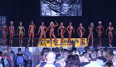 NABBA Girls (Allan Jones Photographer) Tags: nabba figurecompetitors stage show fitness trained toned tanned fit females bikinis westbritainshow allanjonesphotographer canon5d3 canonef100400mmf4556lisusm event competition audience spectators heels musles abs abdominals