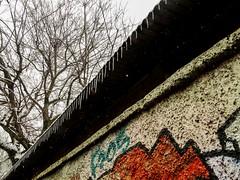 Ghirlanda di ghiaccio. Naviglio Martesana. Milano (diegoavanzi) Tags: milano milan italia italy lombardia lombardy neve snow marzo march ghiaccio ice candelotti forst gelo sony hx300 bridge naviglio martesana canal naviglilombardi